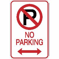 No Parking on Harris Street!